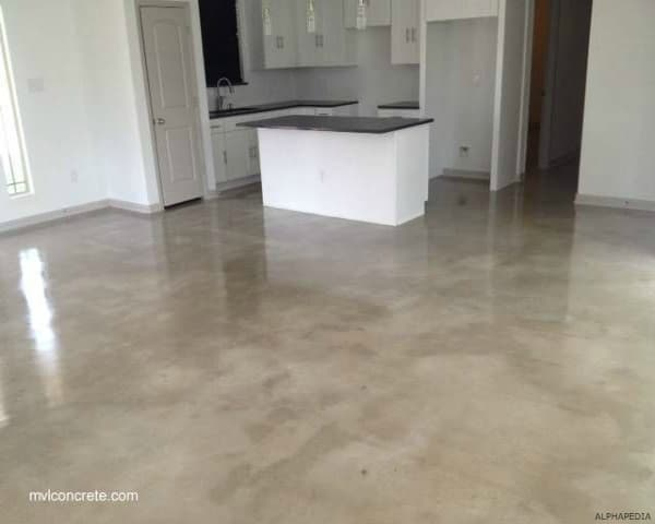 ¿ HOW TO CLEAN CONCRETE FLOORS ?