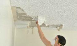 IMAGEN DE COMO QUITAR GOTELE DEL TECHO / how to remove popcorn ceiling