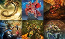 IMAGEN DE LOS DIOSES AZTECAS / IMAGES OF THE AZTEC GODS