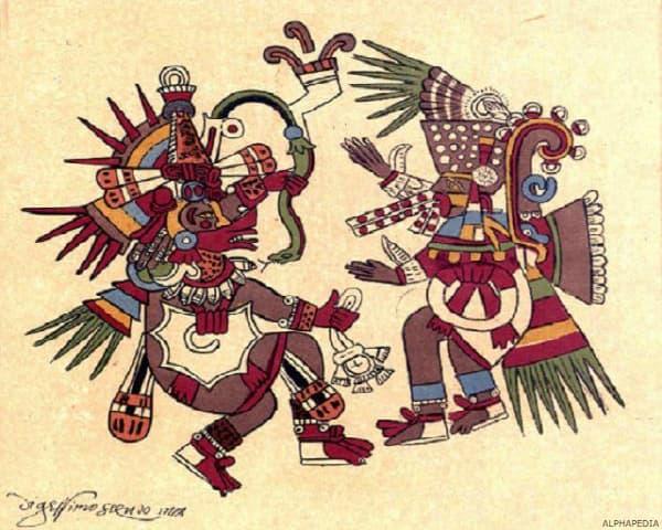 Nombres de Dioses Mayas