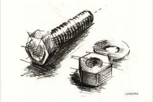 DIBUJO DE TORNILLO / SCREW DRAWING