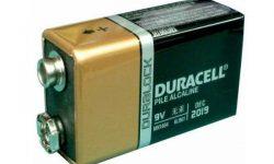 IMAGEN DE BATERIA DE 9 VOLTIOS / 9 volt battery image