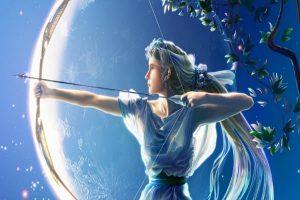IMAGEN DE LA DIOSA ARTEMISA / artemis goddess image