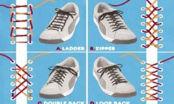 IMAGEN DE COMO ATAR CORDONES / how to tie laces image