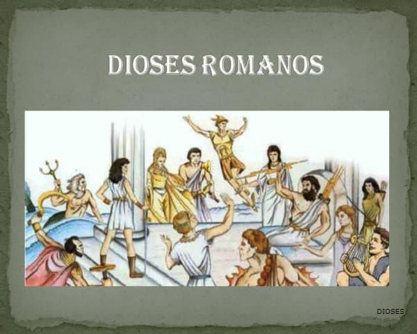 DIOSES ROMANOS: Nombres, Significados y Características