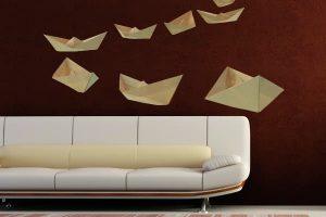 IMAGEN DE VINILOS DE COLORES / wall vinyl image