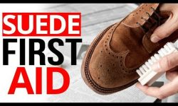 HOW TO CLEAN SUEDE SHOES IMAGE