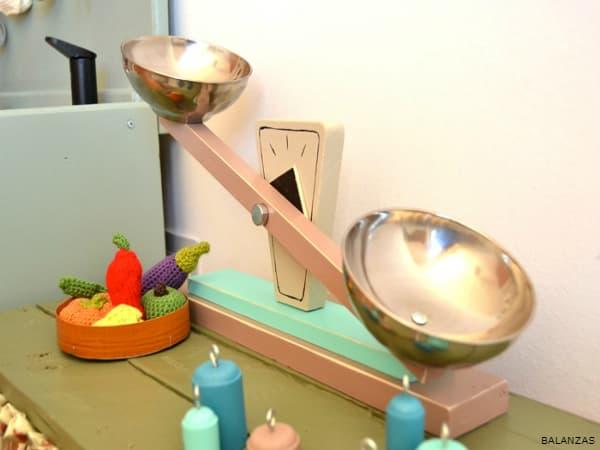 IMAGEN DE BALANZA CASERA / homemade balance scale image